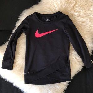 Nike dri - fit toddler sweater
